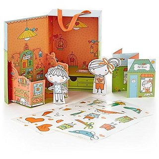 Hallmark Penny Paperheart Pet Store Mini Play Set Kid3283