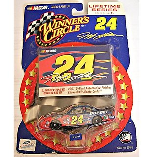 Winners Circle, Lifetime Series, No. 5 of 6, Jeff Gordin #24 Chevy Monte Carlo 2001