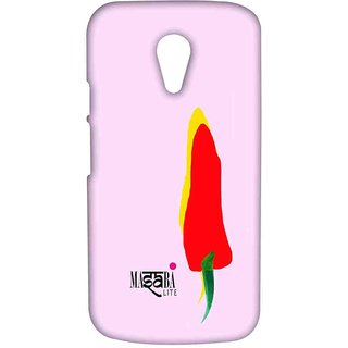 Masaba Yellow Red Chilli - Sublime Case For Moto G2