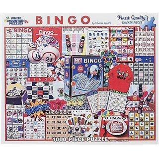 White Mountain Puzzles Bingo Jigsaw Puzzle (1000-Piece)