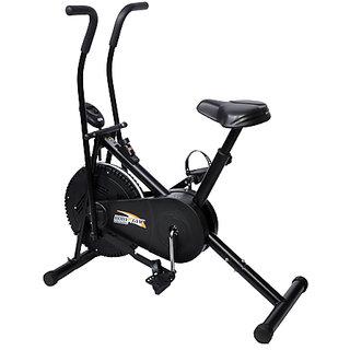Body Gym Dual Functional Air Bike With Counter + 1 Yr Warranty