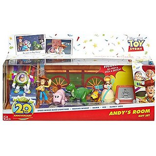 Disney/Pixar Toy Story 20th Anniversary Andys Room Buddies 7 Pack Gift Set