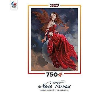 Ceaco Nene Thomas - Crimson Lilly Puzzle