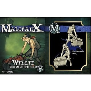 Wyrd Miniatures Malifaux Arcanists Willie Model Kit