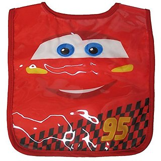 Infant Disney Cars Red Bib Burp 0-12 Months 5011