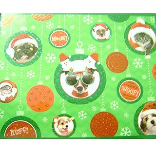 500 Piece Puzzle Christmas Dogs and Cats