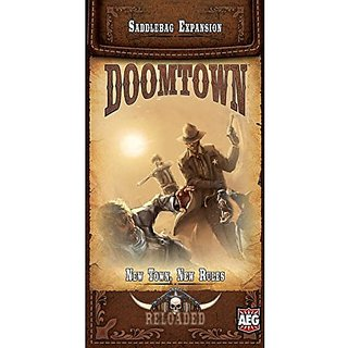 Doomtown: Reloaded - New Town, New Rules - Saddlebag Expansion