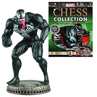 Marvel Chess Figure & Magazine #9: Venom Black Pawn