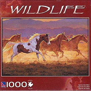 Wildlife Spirit of the West 1000 Piece Puzzle