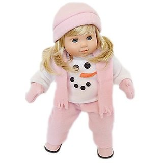 Snowsuit For Bitty Twins Girl Complete With Hat, Scarf, Mittens And Boots!
