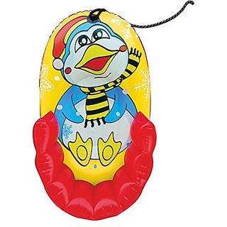 "Aqua Leisure Kiddie Character Penguin Pull Sled, 33"""