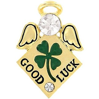 Wings and Wishes Angel Tac Pin, Good Luck Angel