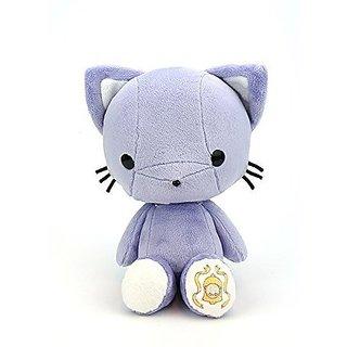 Bellzi® Cute Purple Kitty Cat Stuffed Animal Plush Toy - Kitti - Made in USA