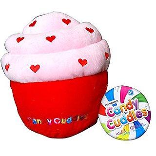 Candy Cuddles Huggable Heart Plush