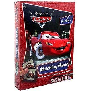 Mattel M3910 Disney Pixar Cars Supercharged Matching Game