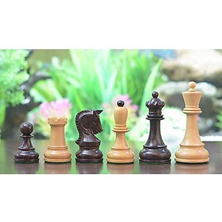 Chessbazaar The Reproduction 1950 Dubrovnik Bobby Fischer Chess Set In Rose Wood / Box Wood