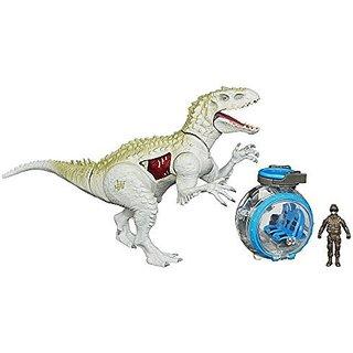 Jurassic World Indominus Rex vs. Gyro Sphere Pack