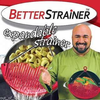Expandable Coland BETTER STRAINER large expandable strainer just lock on strain