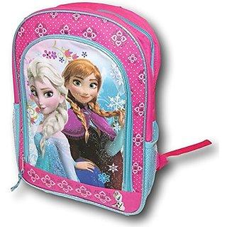 Frozen Backpack Anna Elsa Olaf Pink Aqua