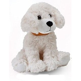 "The Petting Zoo Posh Plush 11"" Scruffy Dog (Cream)"
