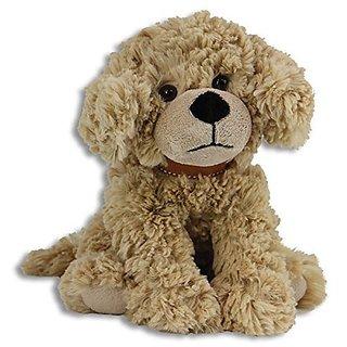 "The Petting Zoo Posh Plush 11"" Scruffy Dog (Caramel)"