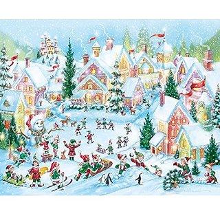 Elf Village Christmas Jigsaw Puzzle 1000 Puzzle