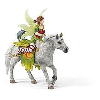 Schleich Marween in Festive Clothes Riding Toy Figure