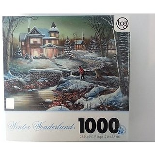 Winter Wonderland Homeward Bound 1000 Piece Jigsaw Puzzle