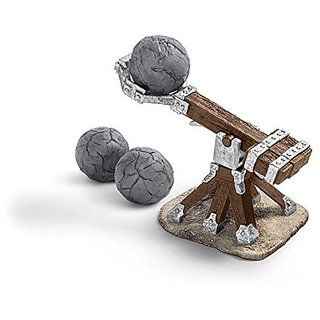 Schleich Catapult Play Set For Knights