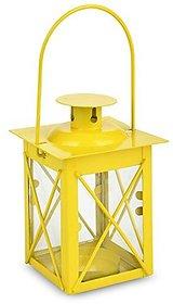 We Glow International Yellow Square Hurricane Tea Light