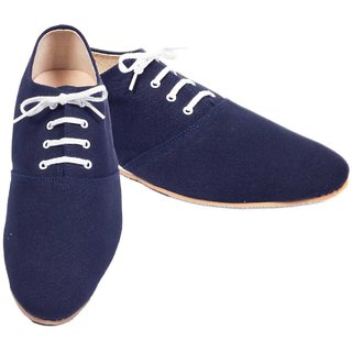 Funk Men's Blue Lace-Up Canvas