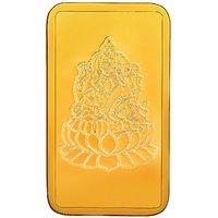RSBL BIS Hallmarked 5 grams 24k (999) Yellow Gold Laxmi Precious Bar