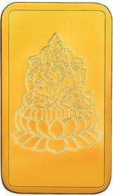 RSBL 1 grams 24k (999) Yellow Gold Laxmi Precious Bar