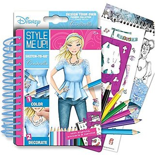 Style Me Up Inspired by Cinderella Sketchbook To-Go