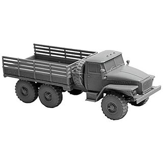 Zvezda Models 1/100 Ural 4320 Russian Army Truck Model Kit