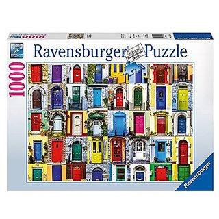 Ravensburger Puzzles Doors, Multi Color (1000 Pieces)