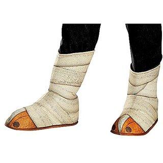 Disguise Panda-Po Shoe/Boot Covers Costume