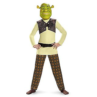 Disguise Shrek Classic Costume, Small (4-6)