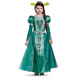 Disguise Fiona Deluxe Costume, Small (4-6x)