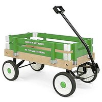 Berlin F257 Amish-Made Pee-Wee Flyer Ride-On Wagon, Eme