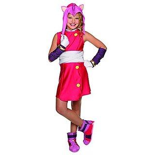 Rubies Costume Sonic Boom Amy Child Costume, Small