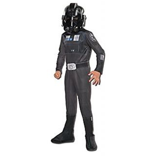 Rubies Costume Star Wars Rebels Tie Fighter Pilot Child Costume, Small