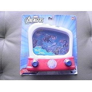 Marvel Avengers Assemble Water Pinball/Ring Toss Handheld Game