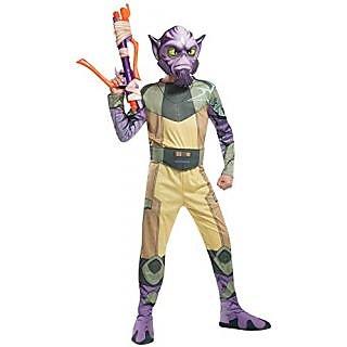 Rubies Costume Star Wars Rebels Zeb Child Costume, Small