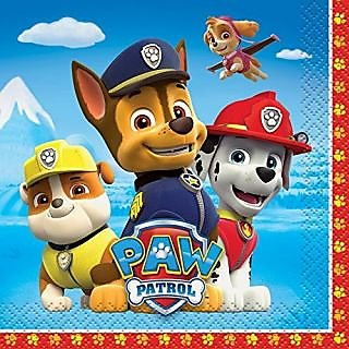 Paw Patrol Beverage Napkins, 16ct