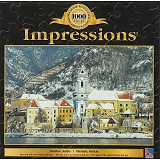 Impressions 1000 Pc Jigsaw Puzzle Durnstein, Austria
