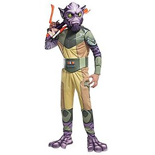 Rubies Costume Star Wars Rebels Zeb Deluxe Child Costume, Small