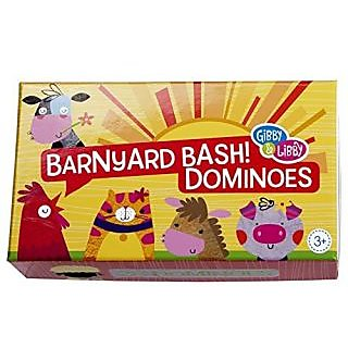 C.R. Gibson Barnyard Bash Picture Dominoes