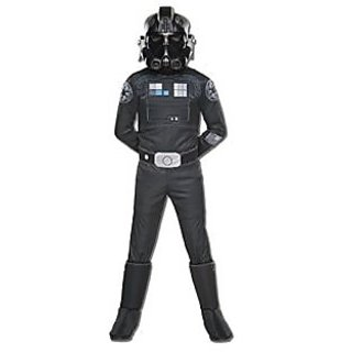 Rubies Costume Star Wars Rebels Tie Fighter Pilot Deluxe Child Costume, Small