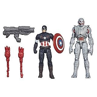 Avengers Age of Ultron Iron Man Lab Attack Playset, Multi Color